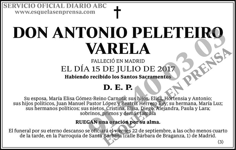 Antonio Peleteiro Varela